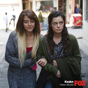 Bahar and Ceyda in Kadin TV series
