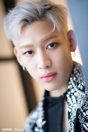 "BamBam""DYE"" mini album promotion photoshoot by Naver x Dispatch"