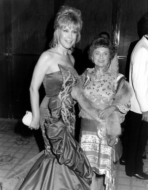 Barbara Eden and Estelle Getty