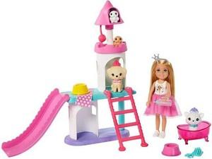 barbie Princess Adventure - Chelsea & Pet Palace Playset