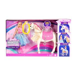 芭比娃娃 Princess Adventure - Prance & Shimmer Horse