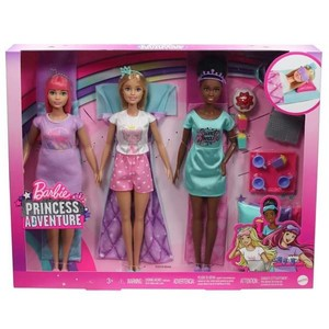 Barbie Princess Adventure - Sleepover Pack in Box