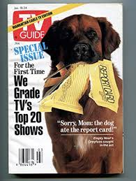 Bear On The Cover Of TV Guide