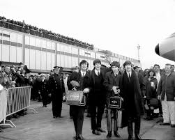 Beatles 1964 Arrival In The United States