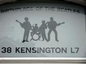 Beatles sign