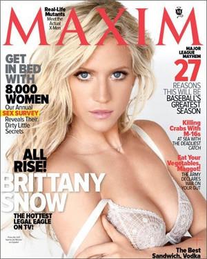 Brittany Snow - Maxim Cover - 2011
