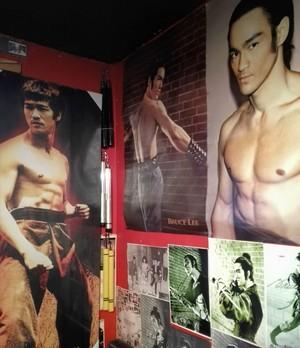 Bruce Lee dragon of jade blind swordsman ancient classical warrior