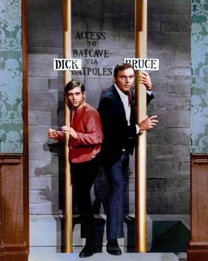 Burt Ward and Adam West in Batman