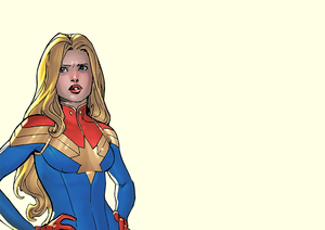 Carol Danvers/Captain Marvel in estrela (2020) no 3