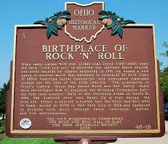 Cleveland Birthplace Of Rock And Roll Plaque