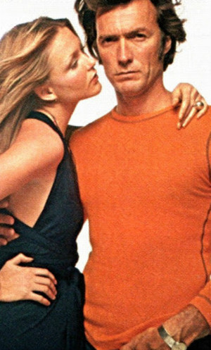 Clint Eastwood and Susan Blakely for playboy magazine (March 1972)