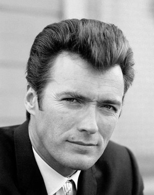 Clint Eastwood photographed on the set of Coogan's Bluff (1968)