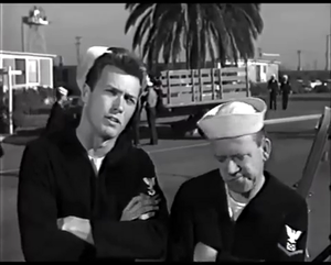 Clint in Francis in the Navy (1955)