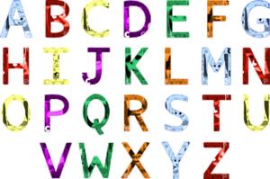 Colorful Alphabet Set - Free Clïp Art - Clïp Art Lïbrary