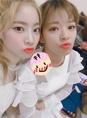 Dahyun and Jeongyeon