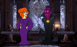 Daphne as a Vampiress