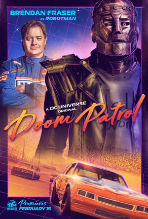 Doom Patrol Poster - Cliff Steele