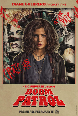 Doom Patrol Poster - Crazy Jane