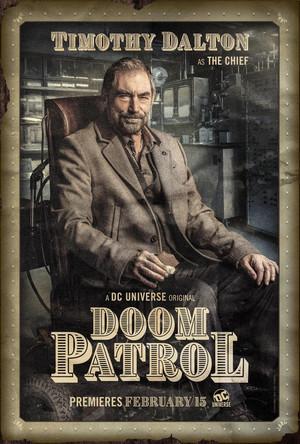 Doom Patrol Poster - Niles Caulder