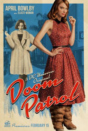 Doom Patrol Poster - Rita Farr