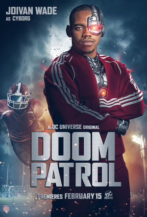 Doom Patrol Poster - Vic Stone