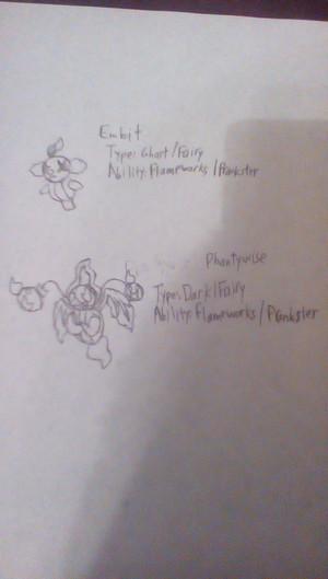 Embit and Phantywise - 2 Fakémon