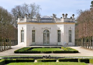 French Pavillon on the grounds of the Palace of Versailles