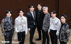 "GOT7's ""DYE"" mini album promotion photoshoot por Naver x Dispatch"