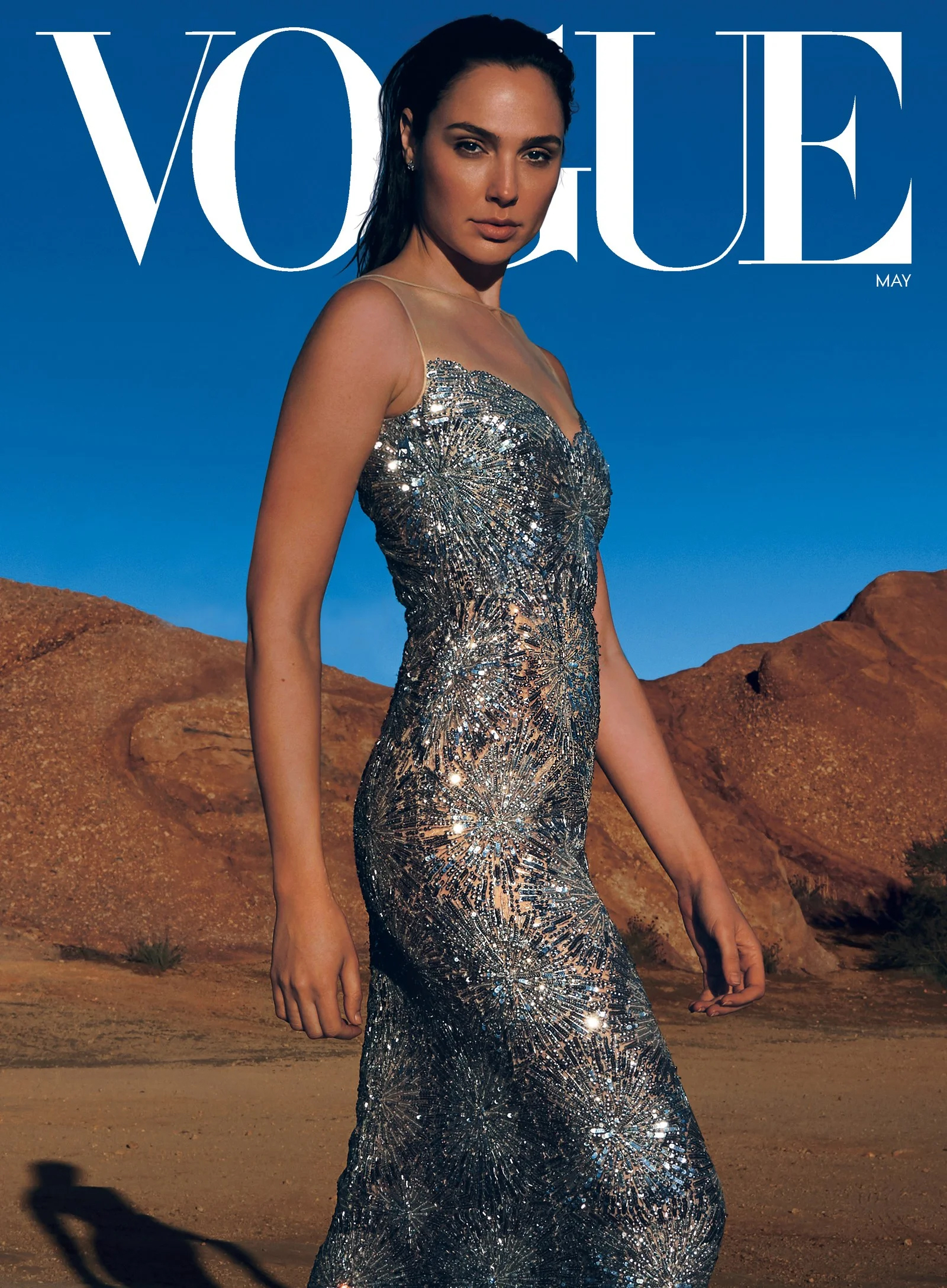 Gal Gadot - Vogue Cover - 2020