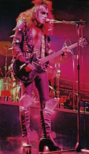Gene ~Amsterdam, Netherlands...May 23, 1976 (Spirit of '76-Destroyer Tour)