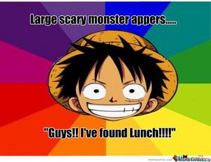 Goofy Luffy 2