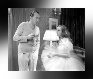 Greta Garbo ~ Edmund Goulding ~ On Set of Grand Hotel ~ 1932