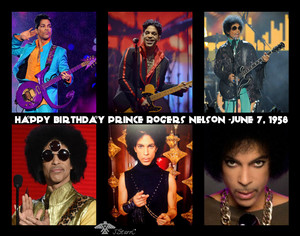 Happy Birthday Prince Rogers Nelson -June 7, 1958
