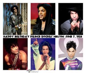 Happy Birthday Prince Rogers Nelson -June 7, 1958