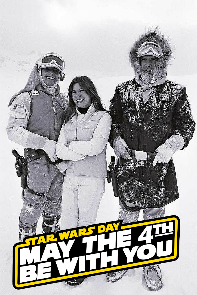 Happy estrela Wars dia ♡ May the 4th Be With You