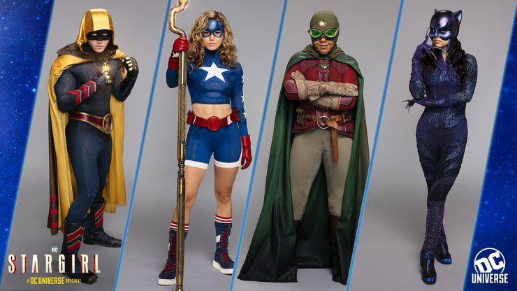 Hourman / Stargirl / Doctor Mid-Nite / Wildcat
