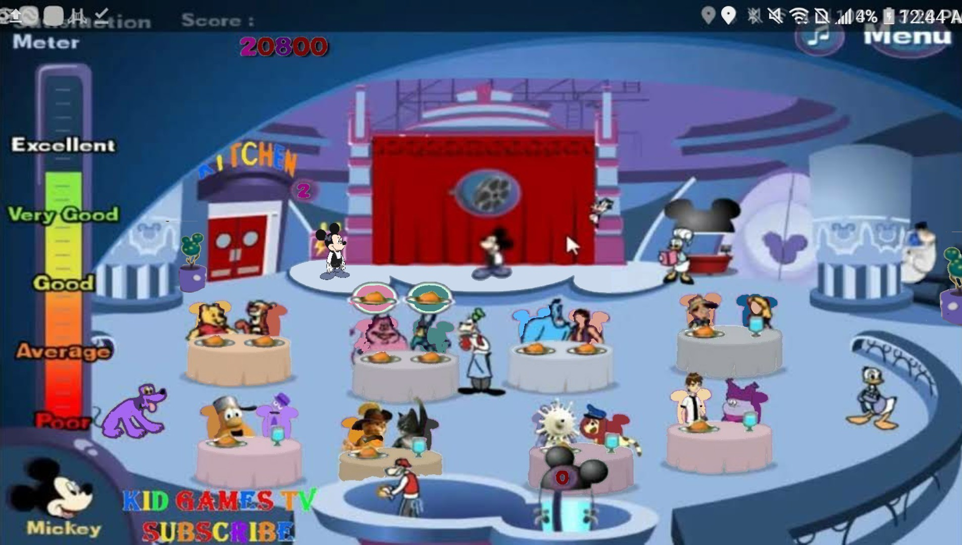 House Of Mouse Mickey Crazy Lounge Pack The House 5