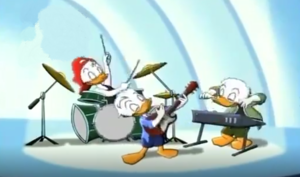 Huey, Dewey, and Louie bebek (House of Mouse)
