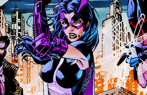 Huntress in Batman: Hush (2003) art par Jim Lee