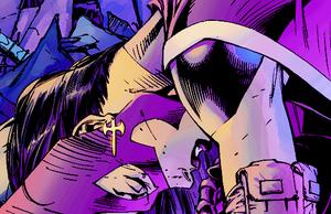 Huntress in Batman: Hush (2003) art sa pamamagitan ng Jim Lee
