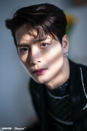 "Jackson ""DYE"" mini album promotion photoshoot by Naver x Dispatch"