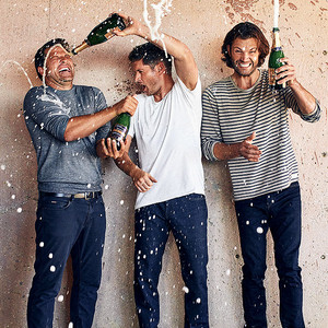 Jared, Jensen, and Misha -EW exclusive portraits of the Supernatural cast