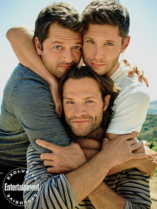 Jared, Jensen and Misha -EW exclusive portraits of the 邪恶力量 cast