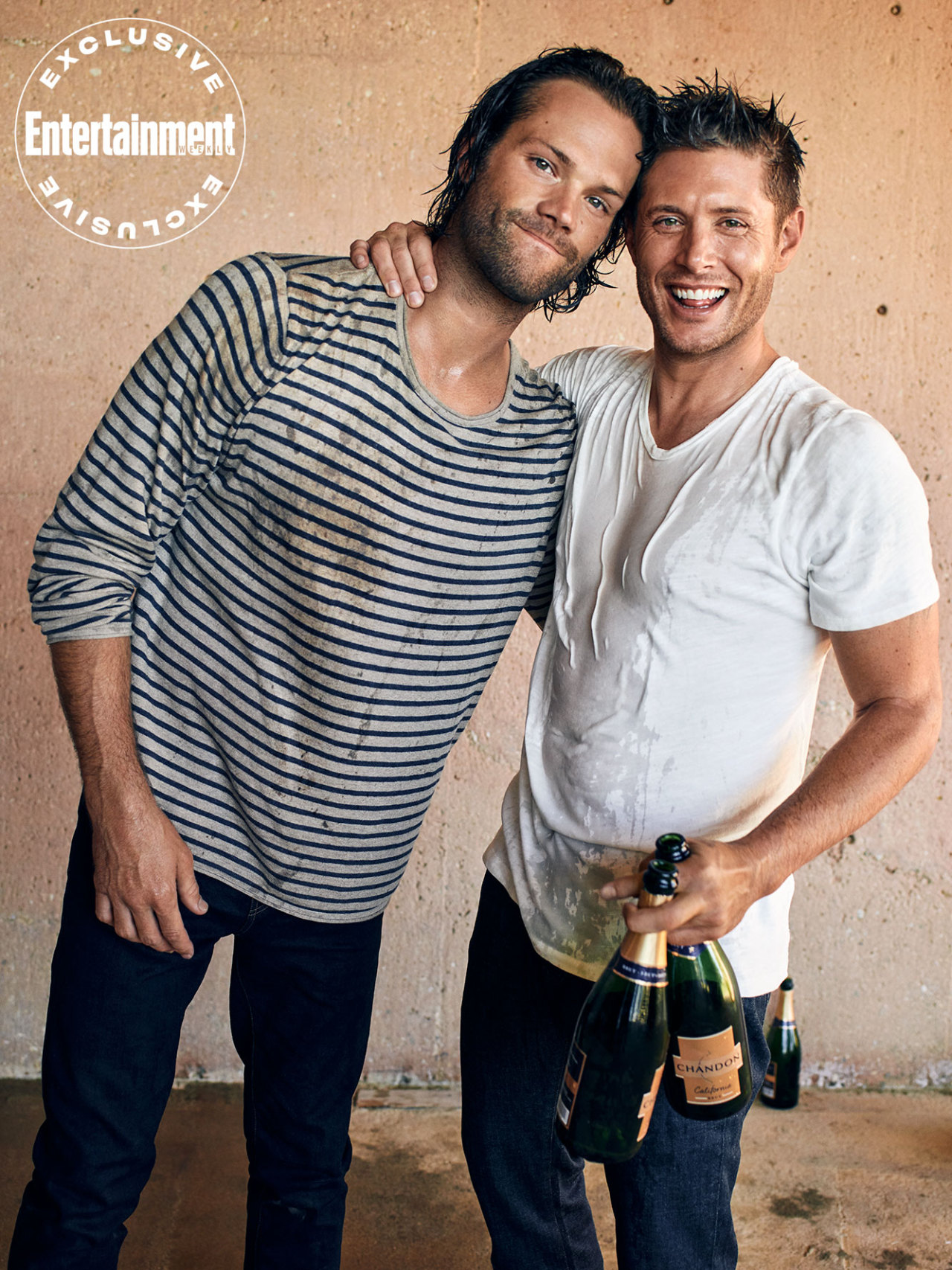 Jared and Jensen -EW exclusive portraits of the スーパーナチュラル cast
