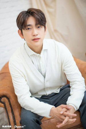 """Jinyoung - tVN Drama """"When My Life Blooms"""" Promotion Photoshoot by Naver x Dispatch"""