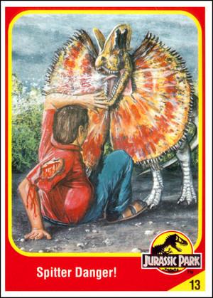 Jurassic Park Collector Card