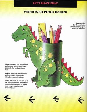 Jurassic Park Crafts