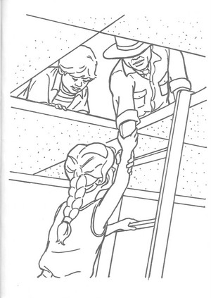 Jurassic Park official coloring page