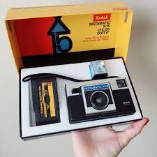 Kodak Instamatic X-15 Camera With Flash Cube