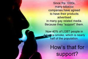 LGBT Ssmoking